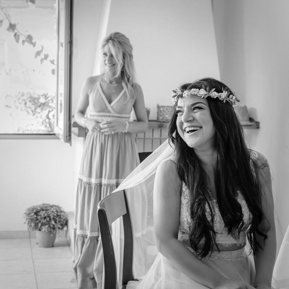 φωτογραφία γάμου στη Τζια