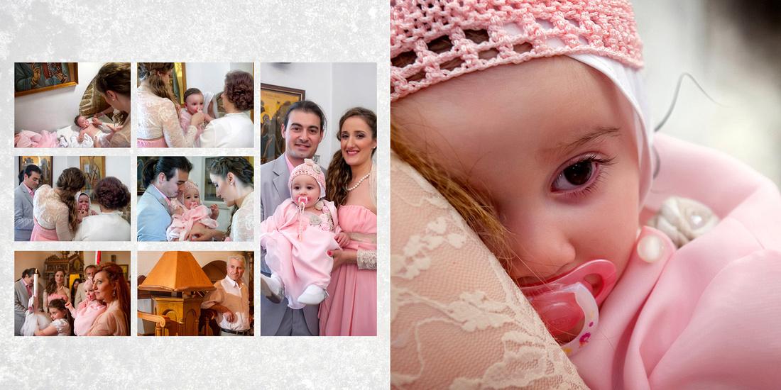 Επαγγελματιες φωτογραφοι βαπτισης Αθηνα, Μυκονος, Σαντορινη